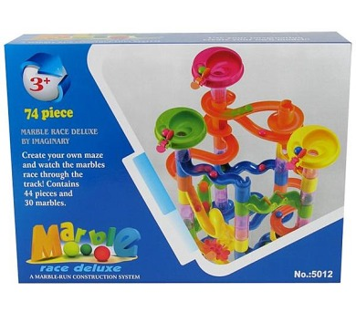 Kuličková dráha Mac Toys 74 dílů