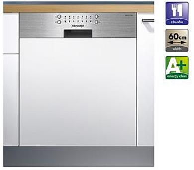Concept MNV2560 Myčka nádobí vestavná s předním panelem 60 cm + DOPRAVA ZDARMA