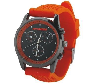 Náramkové hodinky Hyundai - oranžové