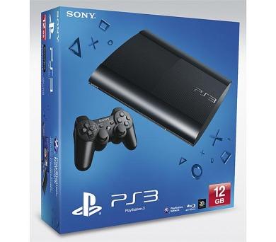 Sony PlayStation 3 12GB - černá