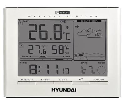 Hyundai WSC 2180 + záruka 40 měsíců