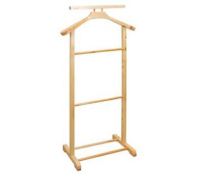 Němý domácí sluha dřevěný 99 cm