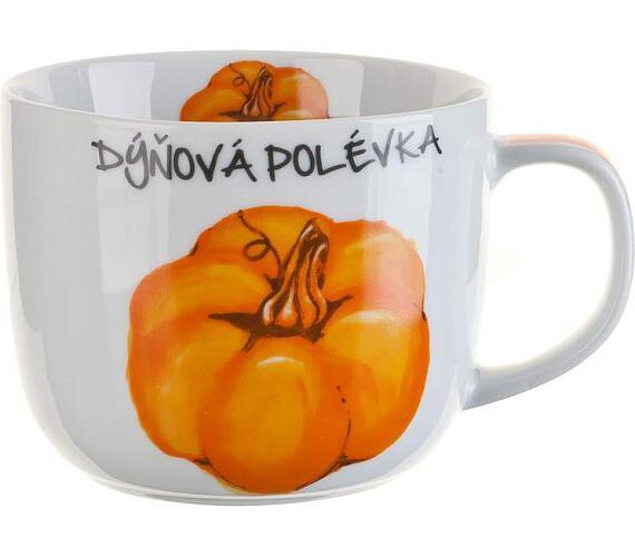 BANQUET Hrnek keramický DÝŇOVÁ POLÉVKA 730 ml
