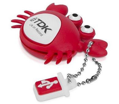 TDK Toys 8GB krab USB 2.0