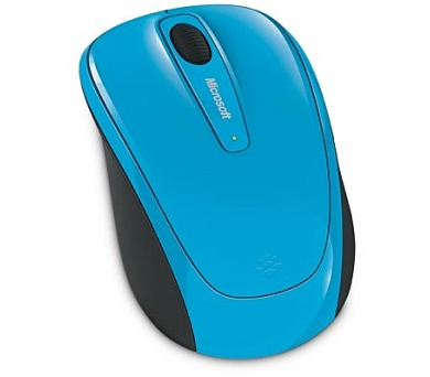 Microsoft Wireless Mobile Mouse 3500 Cyan Blue