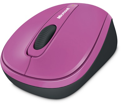 Microsoft Wireless Mobile Mouse 3500 Pink