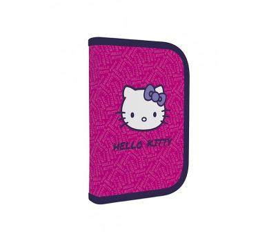 Penál školní P + P Karton jednopatrový naplněný Hello Kitty