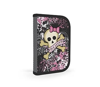 Penál školní P + P Karton jednopatrový plněný Pink Cookie