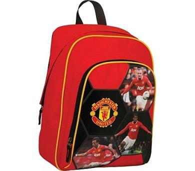 Batoh dětský SunCe s přední kapsou Manchester United