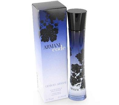 Parfémovaná voda Giorgio Armani Code 75 ml