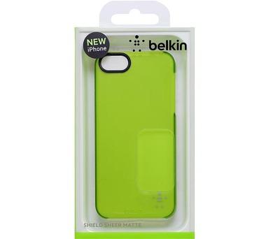 Belkin Soft Touch pro iPhone 5 - zelený