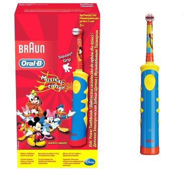 Oral-B D10K Rechargeable Kids - dobíjecí dětský kartáček