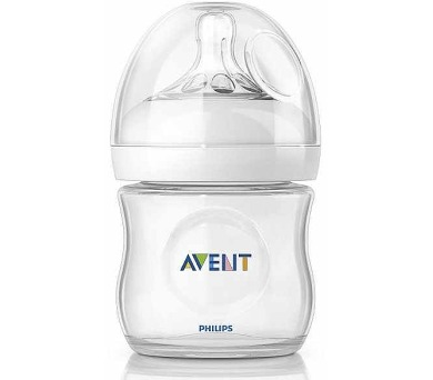 AVENT 125ml Natural PP