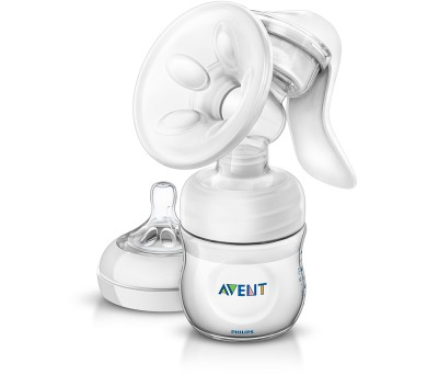 Philips AVENT Natural se zásobníkem 125 ml PP