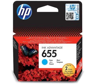Inkoustová náplň HP No. 655