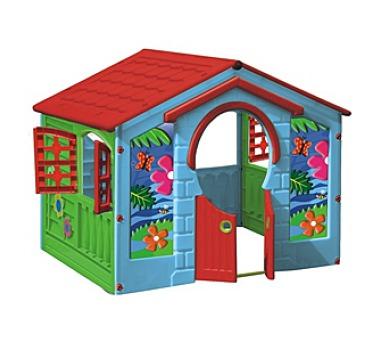 Dětský domeček Marian Plast - HAPPY House farmářský zelený