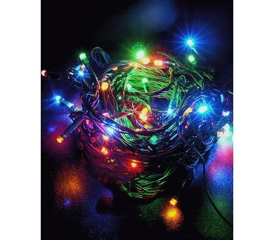 Vánoční osvětlení 180 LED - BAREVNÉ