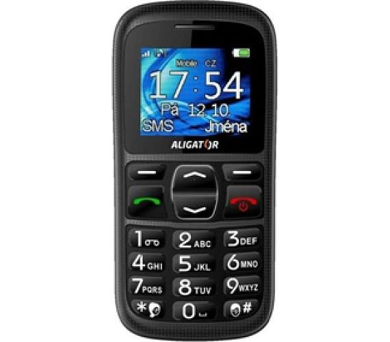 Mobilní telefon Aligator Phones A420 - černý