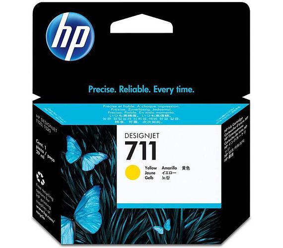 Inkoustová náplň HP No. 711