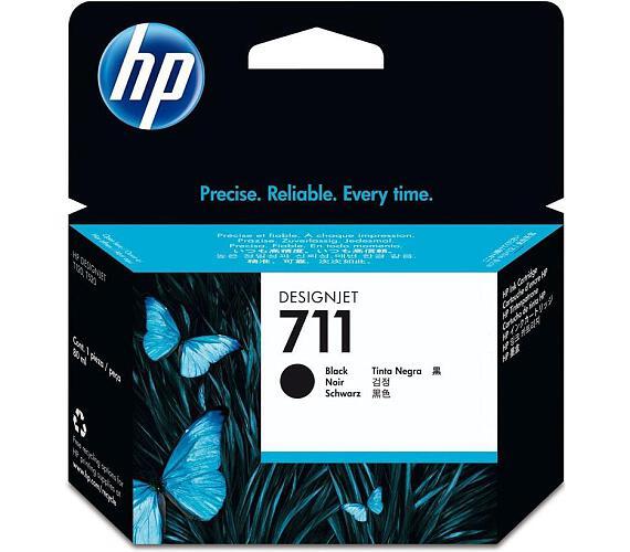 Inkoustová náplň HP No. 711 originální - černá