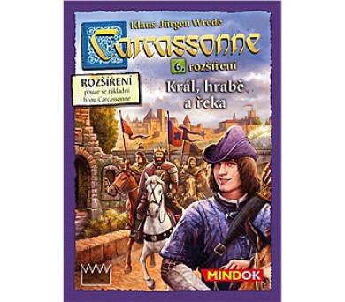 Mindok Carcassonne - rozšíření 6 (Král