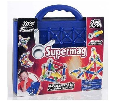 Supermag klasik kufřík - 105dílků + DOPRAVA ZDARMA