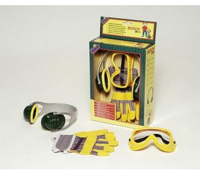Bosch set Klein - sluchátka,rukavice,och