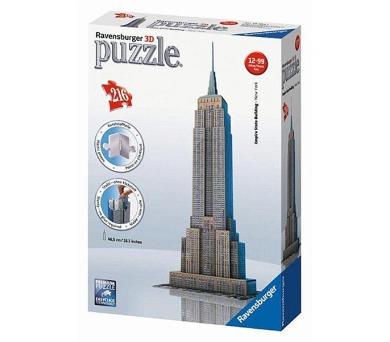 Ravensburger 3D Empire State Building 216 dílků + DOPRAVA ZDARMA