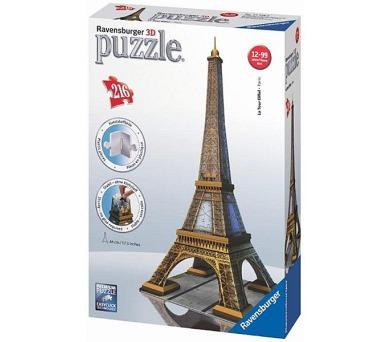 Ravensburger 3D Eiffelova věž 216 dílků + DOPRAVA ZDARMA