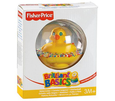 Kačenka v kouli Fisher Price