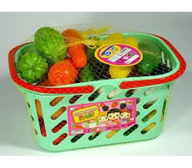 Ovoce a zelenina v košíku Mac Toys