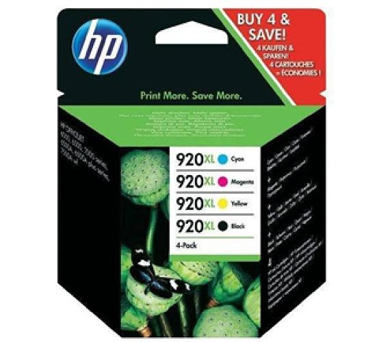 Inkoustová náplň HP No. 920XL