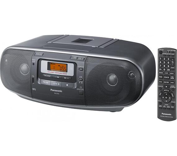 Panasonic RX-D55AEG-K + DOPRAVA ZDARMA