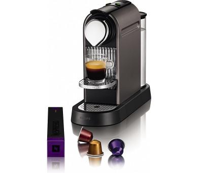 Krups XN720T Nespresso Citiz + poukaz na kávu v hodnotě až 2.000 Kč* + DOPRAVA ZDARMA