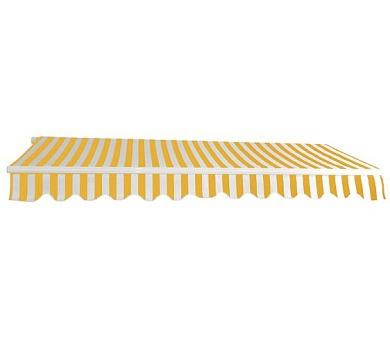 Dema 3x2,5m žluto-bílá