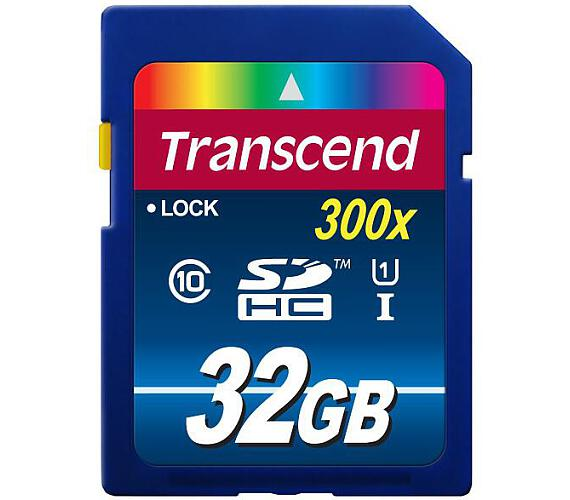 Transcend SDHC Premium 32GB UHS-I U1 (45MB/s)