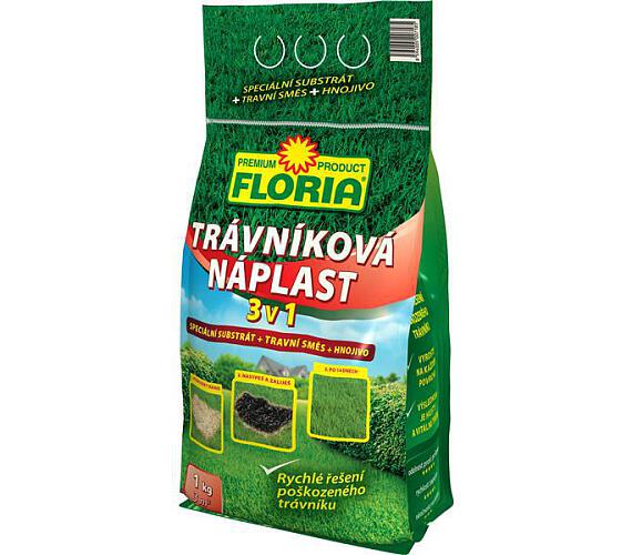 Agro Floria Trávníková náplast 3 v 1 1 kg