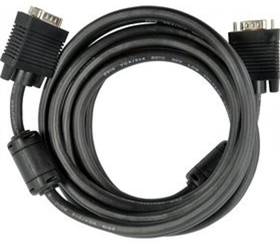 SCO 505-015 VGA M-M Ni 2xFER 1,5M Sencor