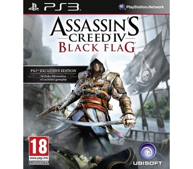 Ubisoft PS3 Assassins Creed IV Black Flag