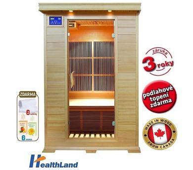 HealthLand DeLuxe 2002 Carbon + Záruka 3 roky + DOPRAVA ZDARMA
