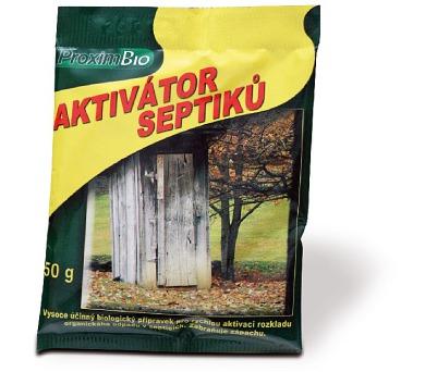 v-garden Aktivátor septiků 50 g