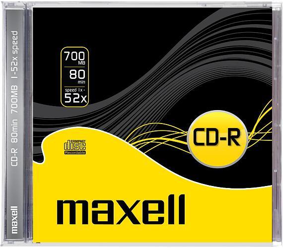 CD-R 700MB 52x 1PK JC 624826 maxell
