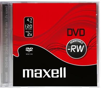 DVD-RW 4,7GB 2x 1PK JC maxell