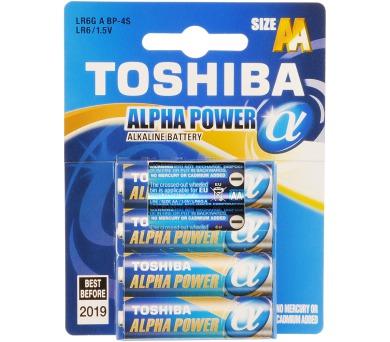 Toshiba ALPHA POWER LR6 4BP AA