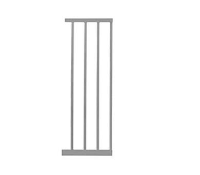 Lindam Sure Shut Deco 28 cm - stříbrná