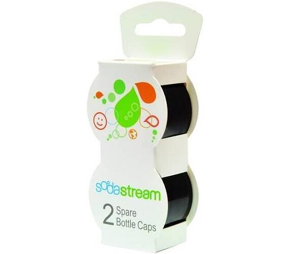 Víčko Černé na plast. lahve 2 ks SODASTR SodaStream