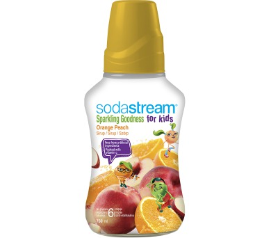 Sodastream 750 ml Orange Peach Good-Kids