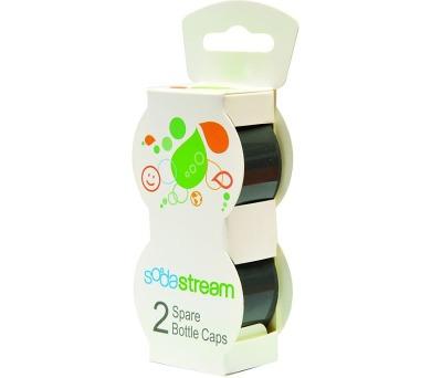 Víčko šedé na plast. lahve 2 ks SODASTRE SodaStream