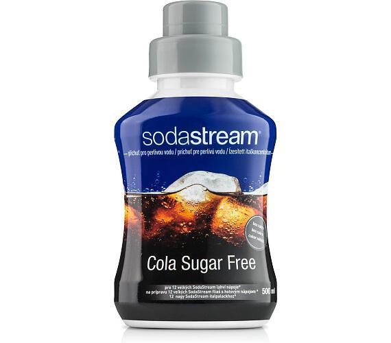 Příchuť Cola Sugar Free(Zero)500 ml SODA SodaStream