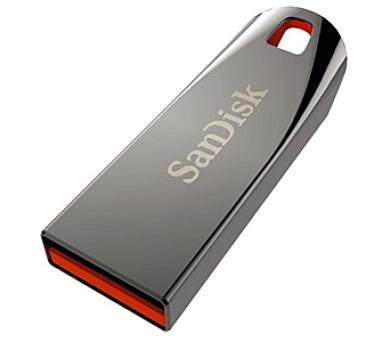 Sandisk Cruzer Force 8GB USB 2.0 - kovový